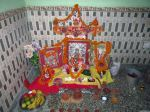 Deepawali Mandir creation By my Mom